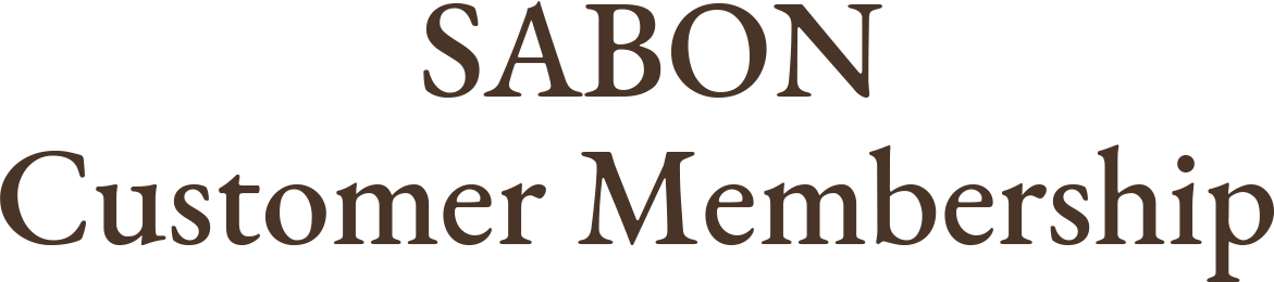 SABON Customer Membership