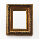 Mirror King Frame Bronze on Stand