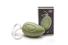 Olive Oil Soap on Rope