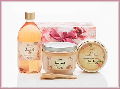 Rose Tea Body Care Kit