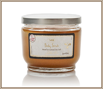 Body Scrub Golden Iris