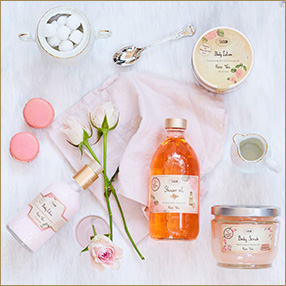 SABON Rose Tea CAFE