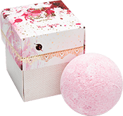 Bath Ball Rose Splash